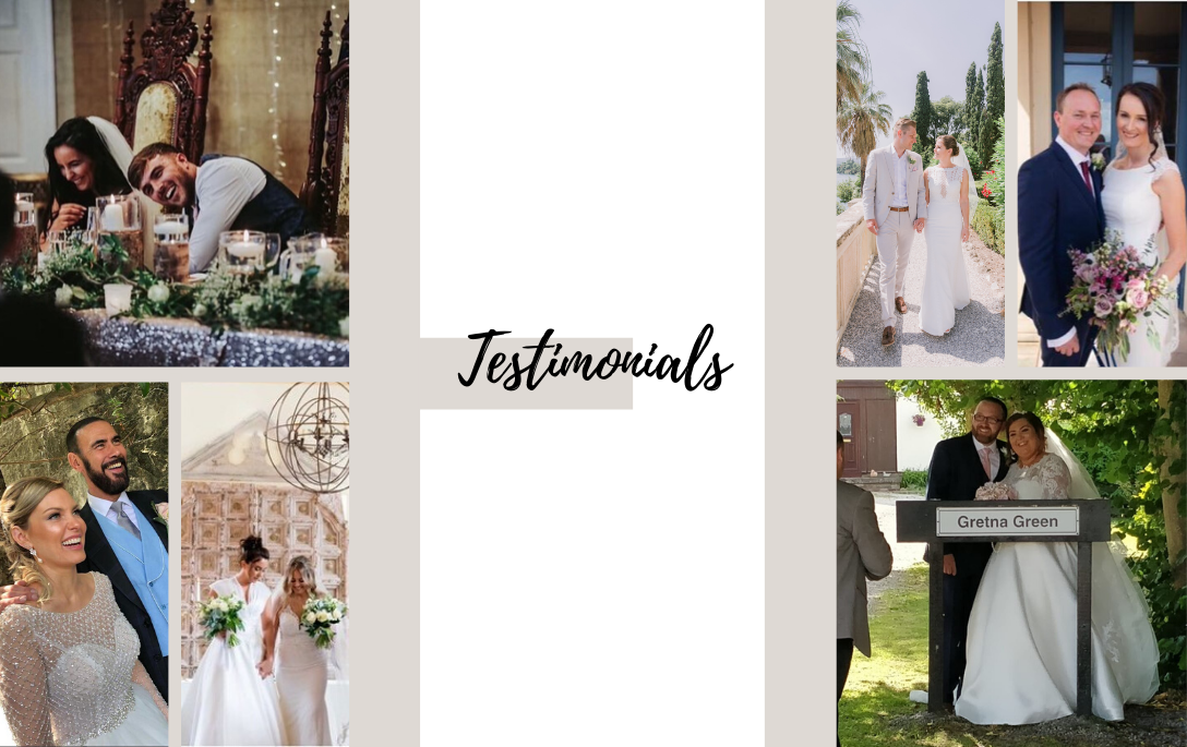 What our Brides of Chester Brides are Saying