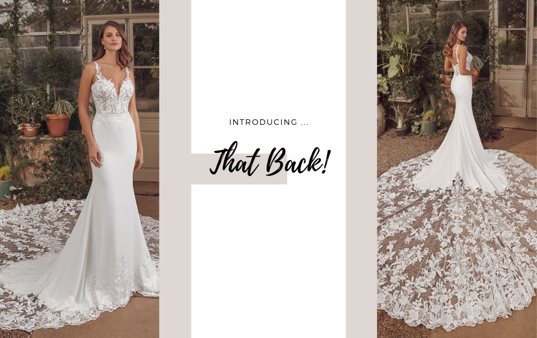 Brides of Chester introduces its Wedding Dresses with Back Detail Collection