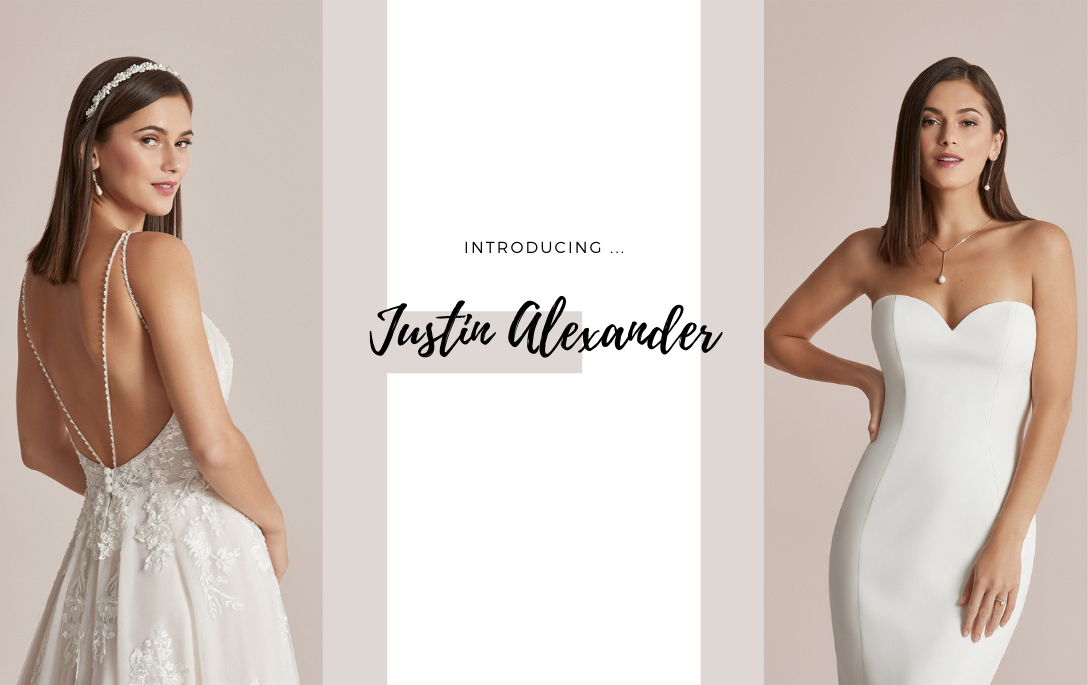 Brides of Chester introduces its Justin Alexander Wedding Dress Collection