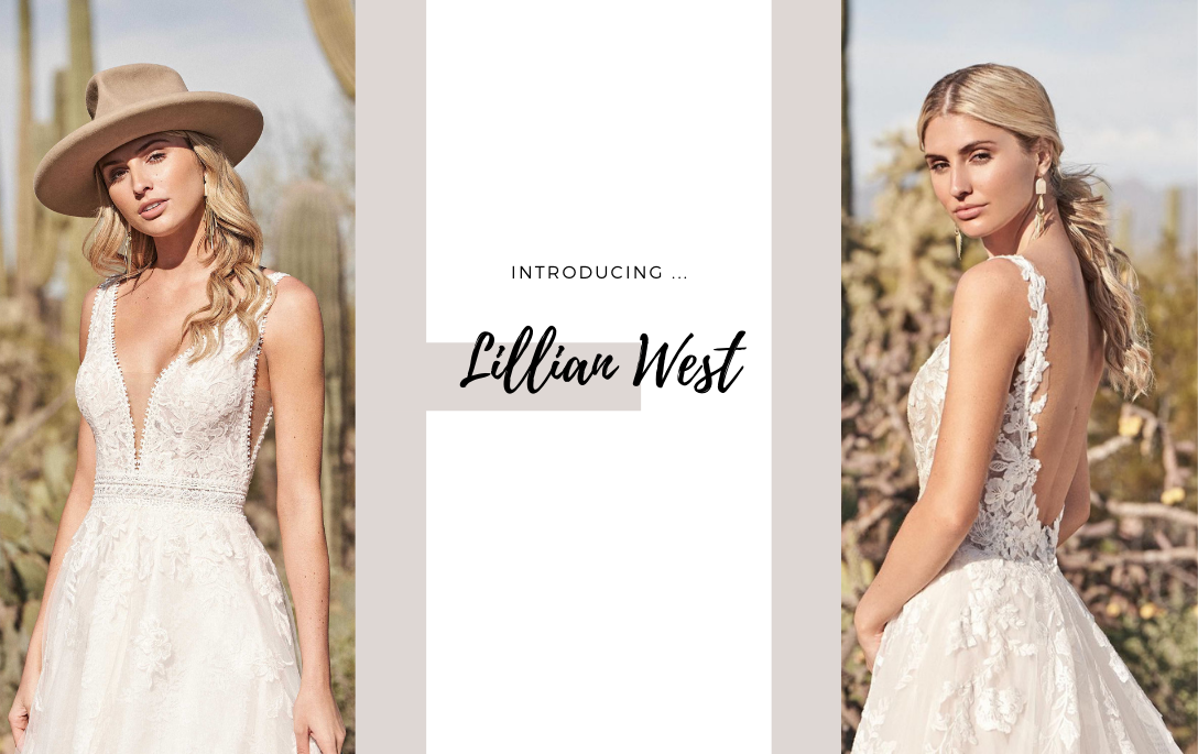 Brides of Chester introduces Lillian West Wedding Dresses