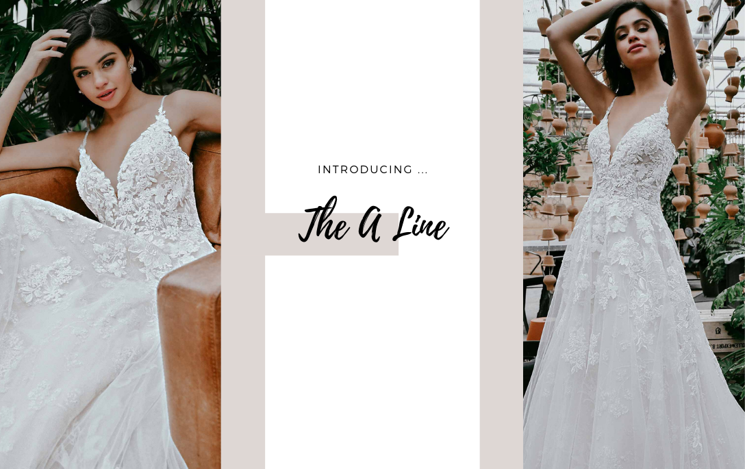 Brides of Chester introduces its A Line Wedding Dress Collection