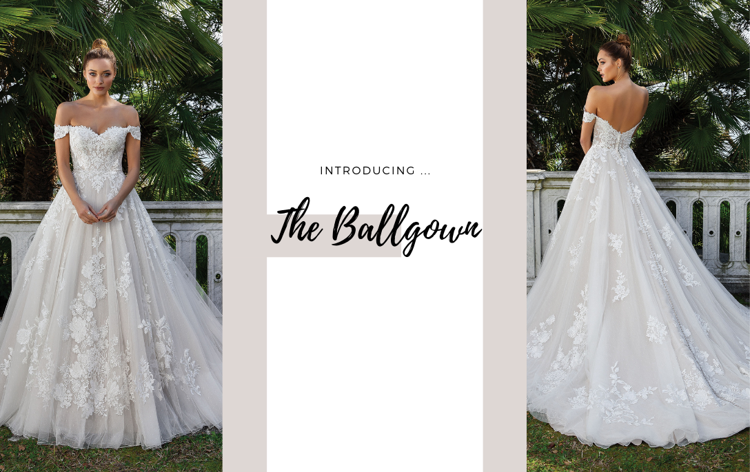 Brides of Chester introduces its Ballgown Wedding Dress Collection
