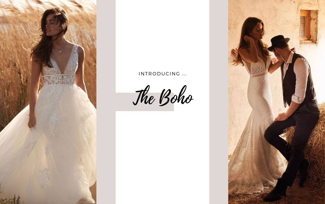 Brides of Chester introduces its Boho Wedding Dress Collection