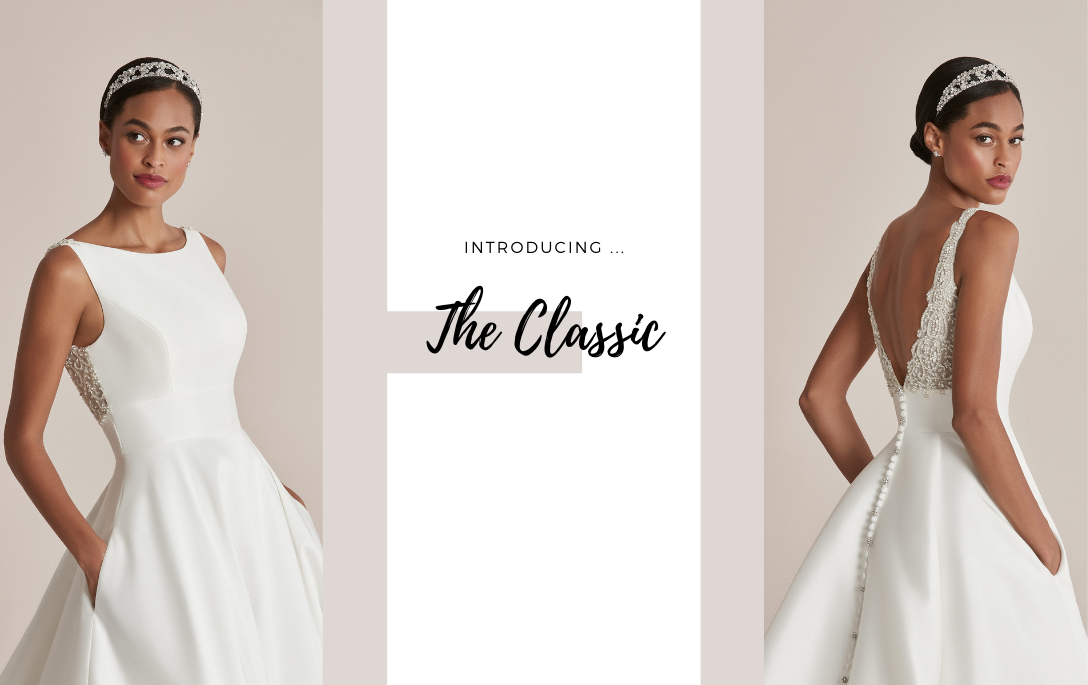 Brides of Chester introduces its Clean, Classic Wedding Dress Collection