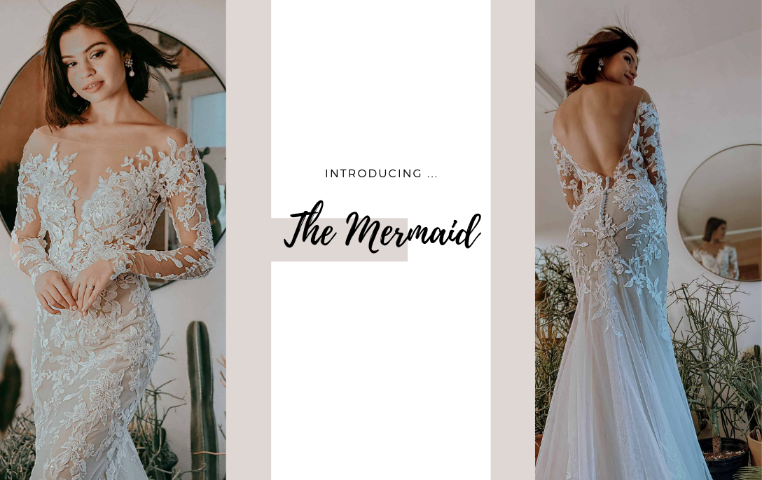 Brides of Chester introduces its Mermaid Wedding Dress Collection