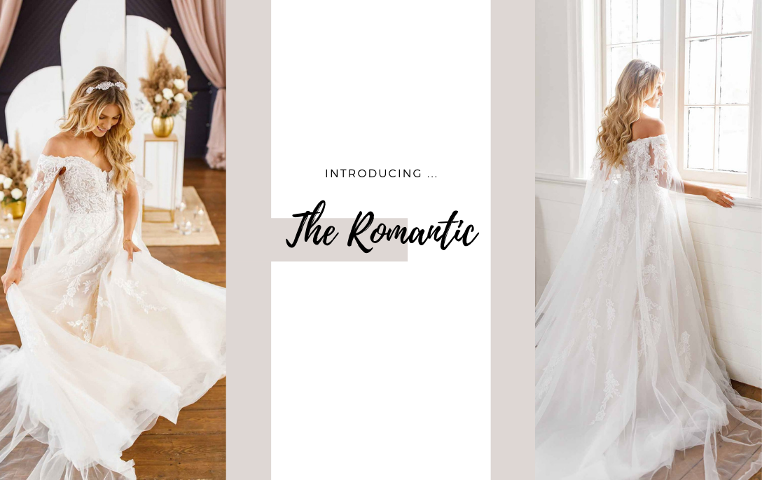Brides of Chester introduces its Romantic, Lace Wedding Dress Collection