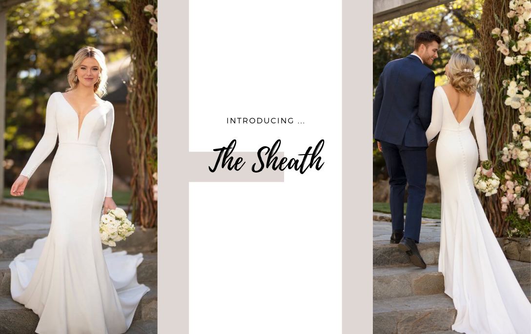 Brides of Chester introduces its Sheath Wedding Dress Collection