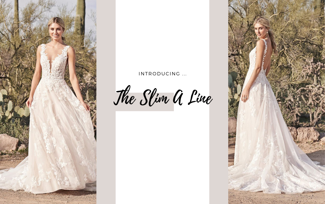 Brides of Chester introduces its Slim A Line Wedding Dress Collection