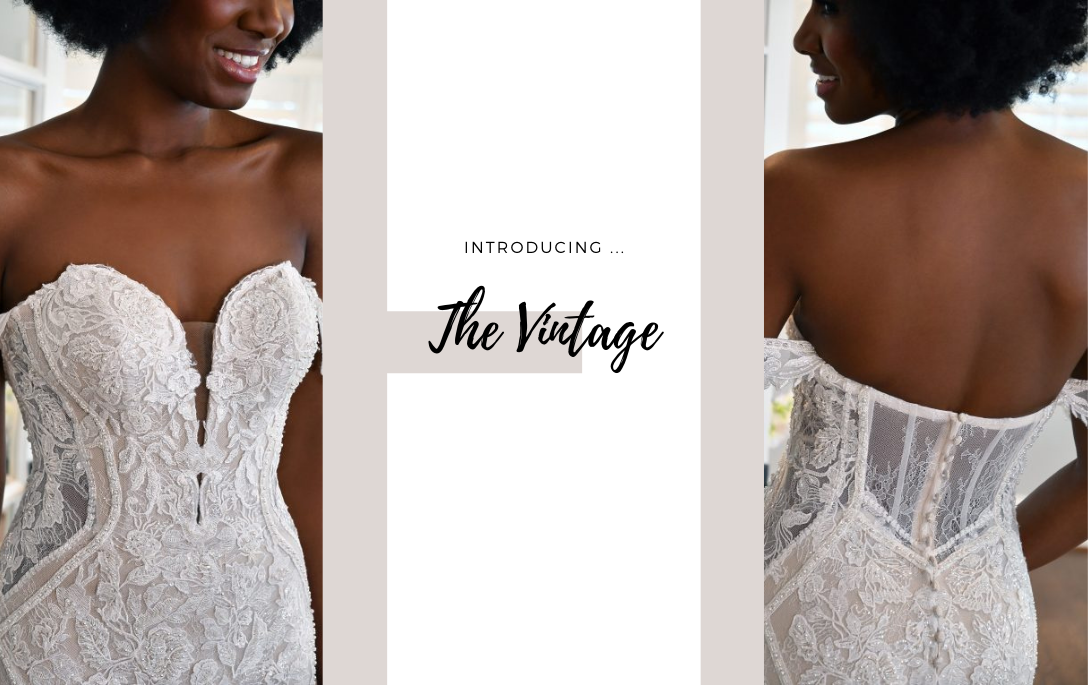 Brides of Chester introduces its Vintage Inspired Wedding Dress Collection